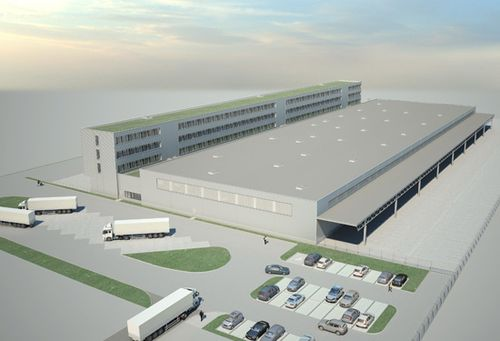 Construction of Freight Centre at New Airport BER | Bohle Group