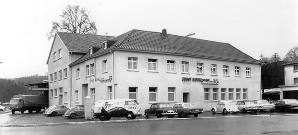 Old head office building, Gummersbach-Derschlag
